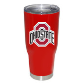 Ohio State Buckeyes 32oz Decal Powder Coated Stainless Steel Tumbler