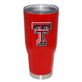 Texas Tech Red Raiders 32oz Decal Powder Coated Stainless Steel Tumbler