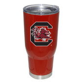South Carolina Gamecocks 32oz Decal Powder Coated Stainless Steel