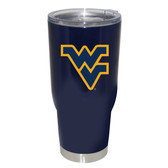 West Virginia Mountaineers 32oz Decal Powder Coated Stainless Steel Tumbler