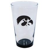 Iowa Hawkeyes 16oz Highlight Pint Glass