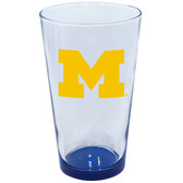 Michigan Wolverines 16oz Highlight Pint Glass