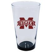 Mississippi State Bulldogs 16oz Highlight Pint Glass