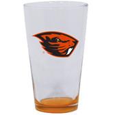 Oregon State Beavers 16oz Highlight Pint Glass