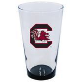 South Carolina Gamecocks 16oz Highlight Pint Glass