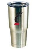 Cincinnati Bearcats 22oz Decal Stainless Steel Tumbler