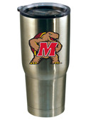 Maryland Terrapins 22oz Decal Stainless Steel Tumbler