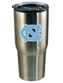 North Carolina Tar Heels 22oz Decal Stainless Steel Tumbler