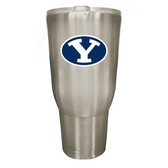 Brigham Young Cougars 32oz Stainless Steel Decal Tumbler