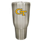Georgia Tech Yellow Jackets 32oz Stainless Steel Decal Tumbler