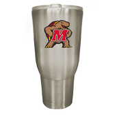 Maryland Terrapins 32oz Stainless Steel Decal Tumbler