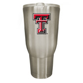 Texas Tech Red Raiders 32oz Stainless Steel Decal Tumbler