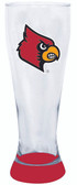 Louisville Cardinals 23 oz Highlight Decal Pilsner