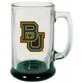 Baylor Bears 15 oz Highlight Decal Glass Stein