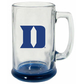 Duke Blue Devils 15 oz Highlight Decal Glass Stein