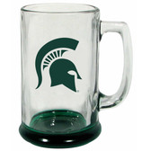 Michigan State Spartans 15 oz Highlight Decal Glass Stein