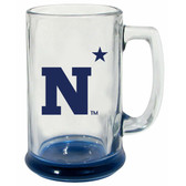 Navy Midshipmen 15 oz Highlight Decal Glass Stein