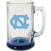 North Carolina Tar Heels 15 oz Highlight Decal Glass Stein