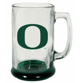 Oregon Ducks 15 oz Highlight Decal Glass Stein