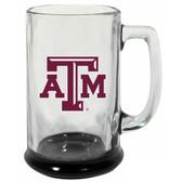 Texas A&M Aggies 15 oz Highlight Decal Glass Stein