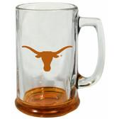Texas Longhorns 15 oz Highlight Decal Glass Stein