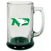 North Dakota Sioux 15 oz Highlight Decal Glass Stein