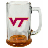 Virginia Tech Hokies 15 oz Highlight Decal Glass Stein