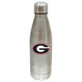 Georgia Bulldogs 17 oz Stainless Steel Water Bottle