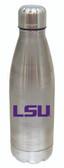 LSU Tigers 17 oz Stainless Steel Water Bottle