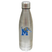 Memphis Tigers 17 oz Stainless Steel Water Bottle