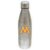 Minnesota Golden Gophers 17 oz Stainless Steel Water Bottle