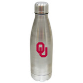 Oklahoma Sooners 17 oz Stainless Steel Water Bottle