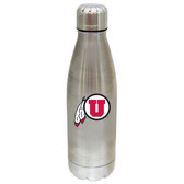 Utah Utes 17 oz Stainless Steel Water Bottle