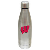Wisconsin Badgers 17 oz Stainless Steel Water Bottle