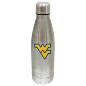 West Virginia Mountaineers 17 oz Stainless Steel Water Bottle