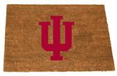 Indiana Hoosiers Colored Logo Door Mat