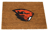 Oregon State Beavers Colored Logo Door Mat