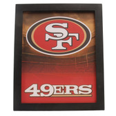 San Francisco 49ers Sign Light Up Wall Style