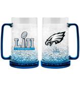 Philadelphia Eagles Mug 16oz Crystal Freezer Style Super Bowl 52 Champs