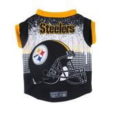 Pittsburgh Steelers Pet Performance Tee Shirt Size M