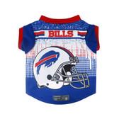 Buffalo Bills Pet Performance Tee Shirt Size S