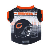 Chicago Bears Pet Performance Tee Shirt Size S