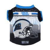 Carolina Panthers Pet Performance Tee Shirt Size M