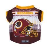 Washington Redskins Pet Performance Tee Shirt Size L