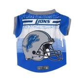Detroit Lions Pet Performance Tee Shirt Size M