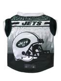 New York Jets Pet Performance Tee Shirt Size XL