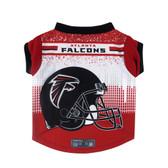 Atlanta Falcons Pet Performance Tee Shirt Size L