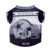 Dallas Cowboys Pet Performance Tee Shirt Size S