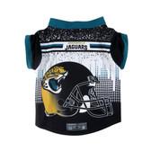 Jacksonville Jaguars Pet Performance Tee Shirt Size L