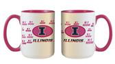 Illinois Fighting Illini 15oz Mom Mug